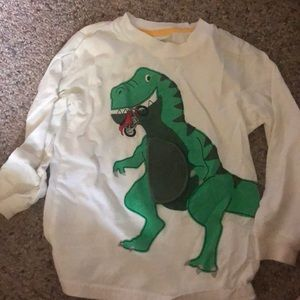 Dino belly tee